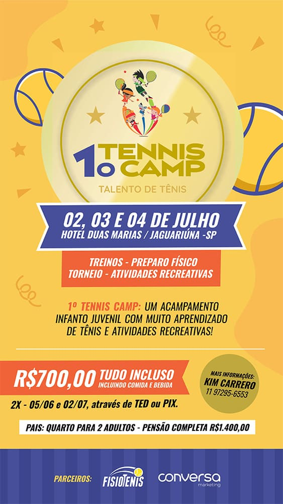 Tenis Camp Cartaz