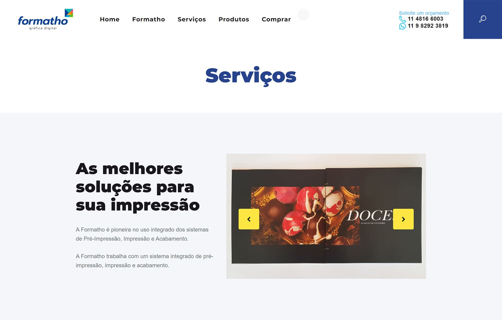 Serviços Site